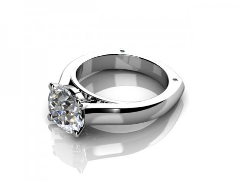 1.5 Carat Diamond Engagement Ring 1 1, Shira Diamonds