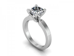 1_Carat_Solitaire_Diamond_Ring_-_Princess_Cut_Diamond_Ring_Dallas_1