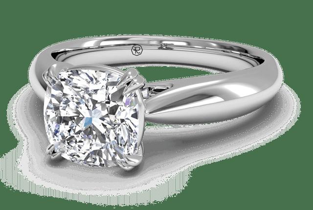 2 Carat Solitaire Diamond Ring Dallas 4, Shira Diamonds