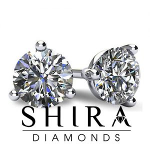 3_prong_martini_setting_diamond_studs_at_Shira_Diamonds_in_Dallas,_Texas