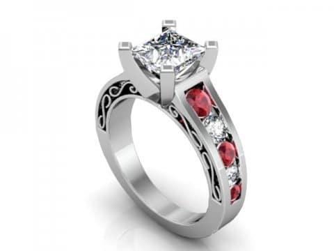 5 Carat Diamond Rings Dallas 1 2, Shira Diamonds