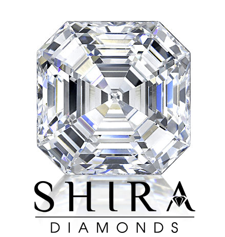 Asscher Cut Diamonds in Dallas Texas with Shira Diamonds Dallas