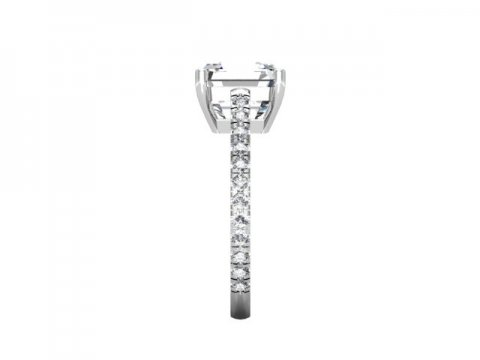 Asscher Diamond Rings 2 2, Shira Diamonds