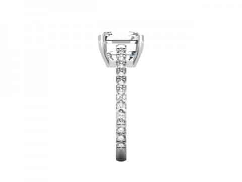 Asscher Diamond Rings 2 2, Shira Diamonds