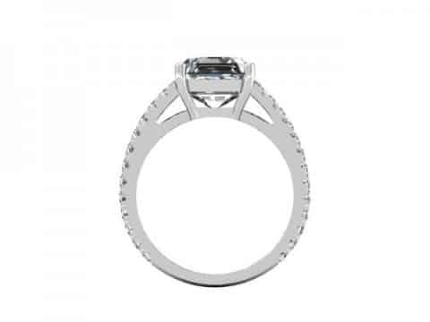 Asscher Diamond Rings 3 2, Shira Diamonds