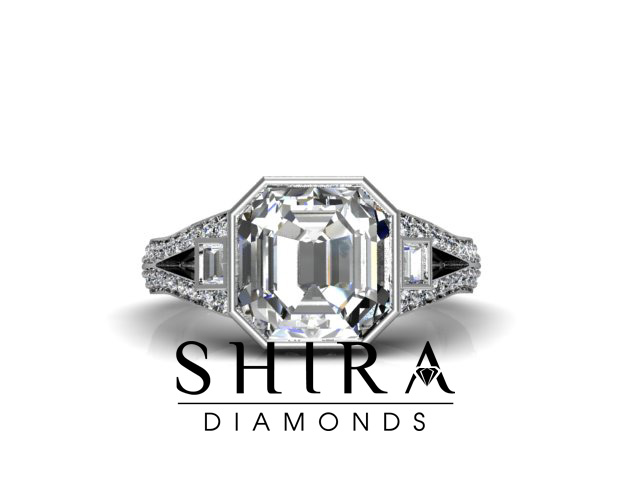 Asscher Diamond Rings Dallas   Wholesale Diamonds   Custom Diamond Rings   Engagement Rings   Asscher Diamonds Plano   Asscher Diamonds   Diamore Diamonds 1 1 1, Shira Diamonds