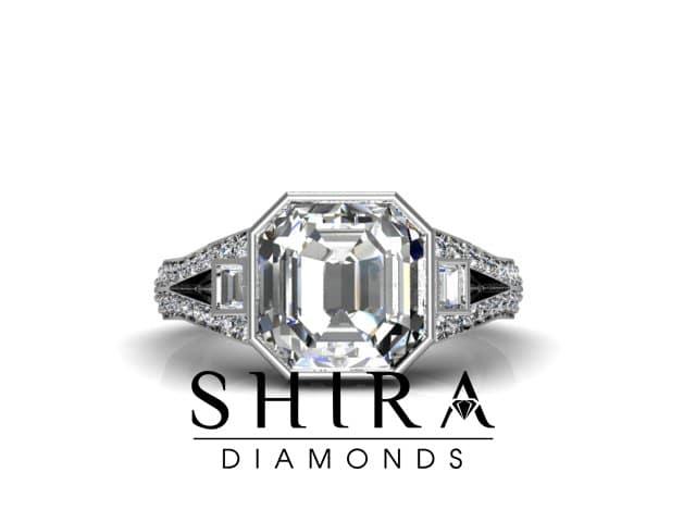 Asscher_Diamond_Rings_Dallas_