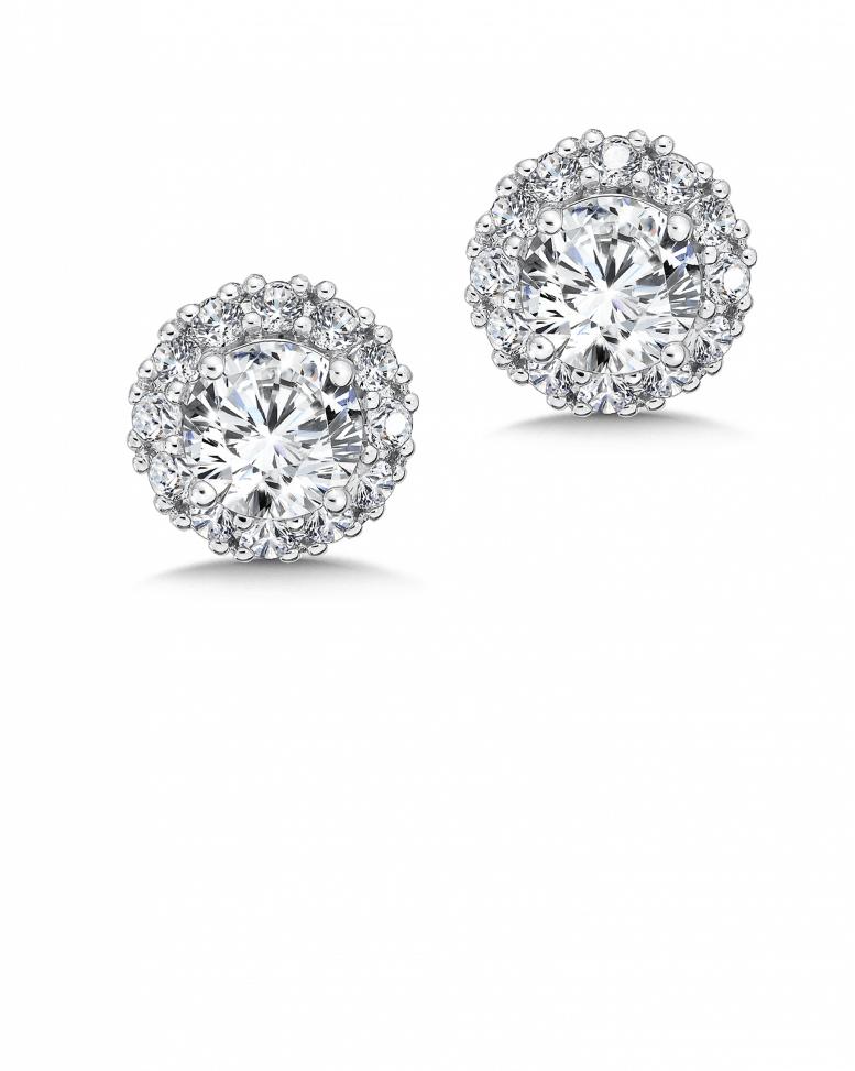 Custom 1 Carat Diamond Studs In Dallas Shira Diamonds