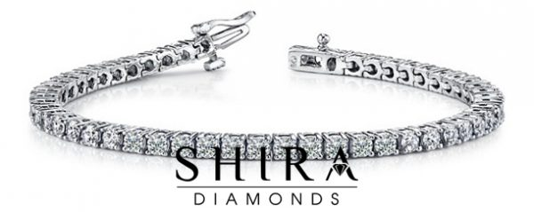 Ctw_Round_Diamond_Tennis_Bracelet_14K_White_Gold_at_Shira_Diamonds_in_Dallas,_Texas