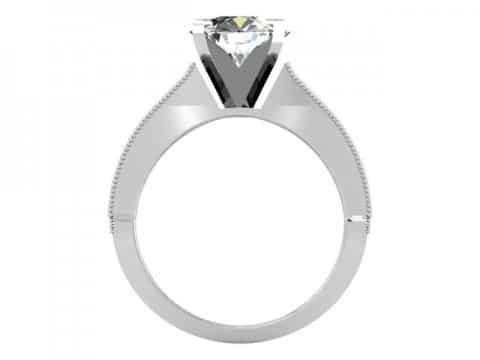 Custom Channel Diamond Rings Dallas 3