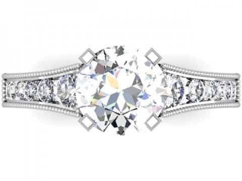 Custom Channel Diamond Rings Dallas 4
