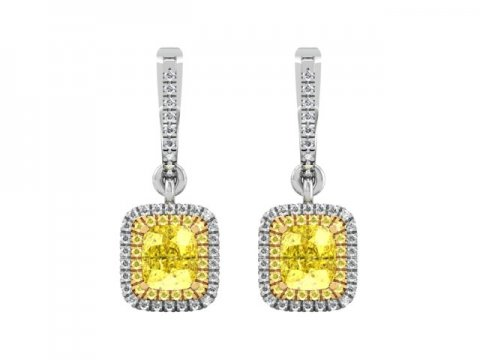Custom Diamond Earrings Dallas 3