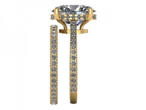 Custom Diamond Engagement Ring 3