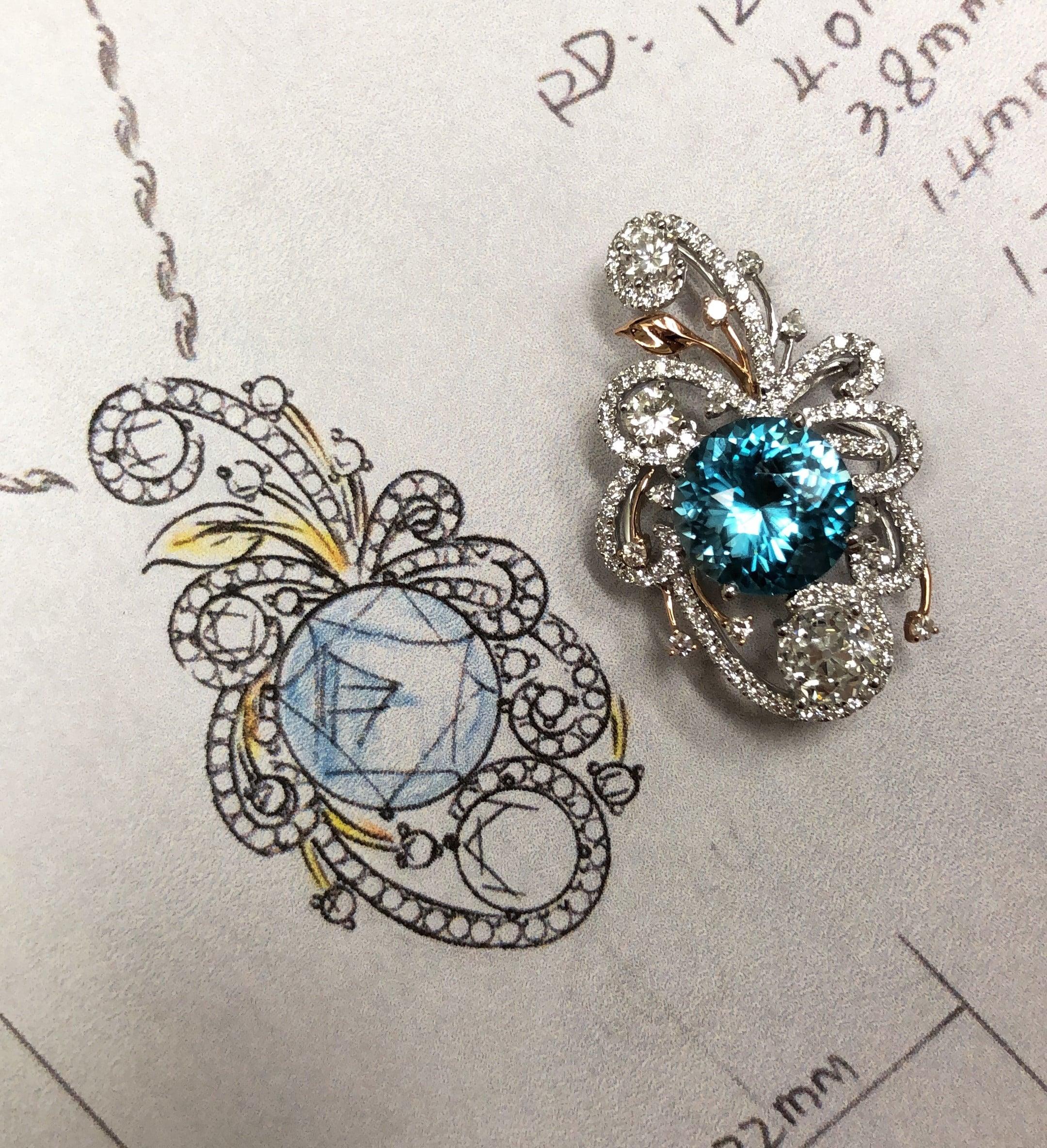 Custom Diamond Pendants Dallas texas