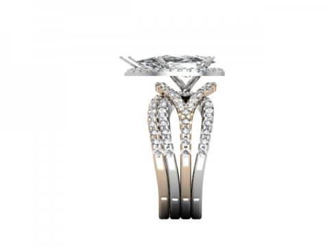 Custom Diamond Ring 2 1, Shira Diamonds