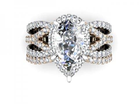 Custom Diamond Ring 4 1, Shira Diamonds