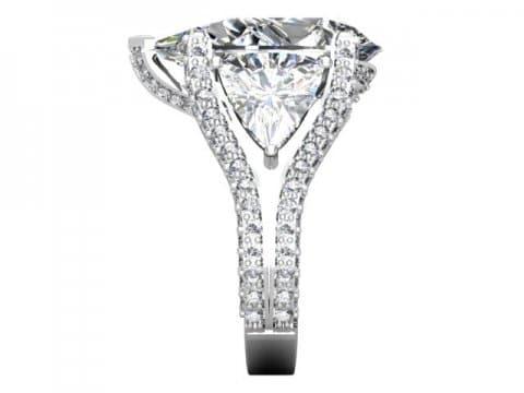 Custom Diamond Ring Dallas Pear 3 1, Shira Diamonds