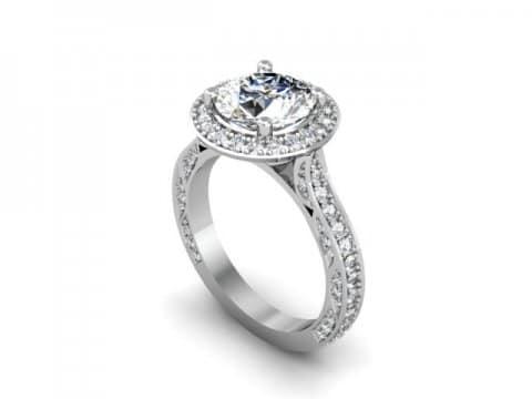 Custom Diamond Rings 1 1, Shira Diamonds