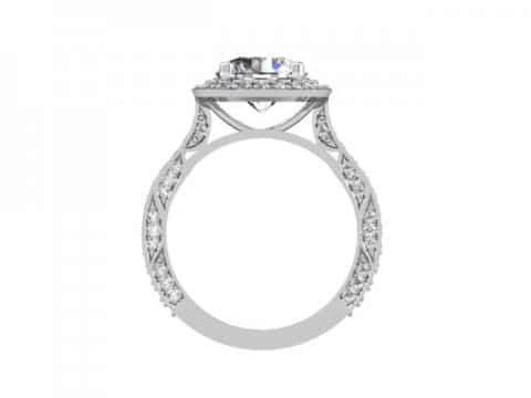 Custom Diamond Rings 3 1, Shira Diamonds