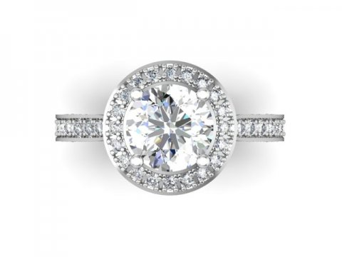 Custom Diamond Rings 4 1, Shira Diamonds