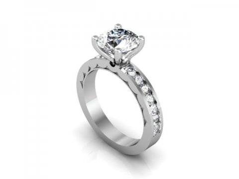 Custom Diamond Rings Amarillo Texas 1 1, Shira Diamonds