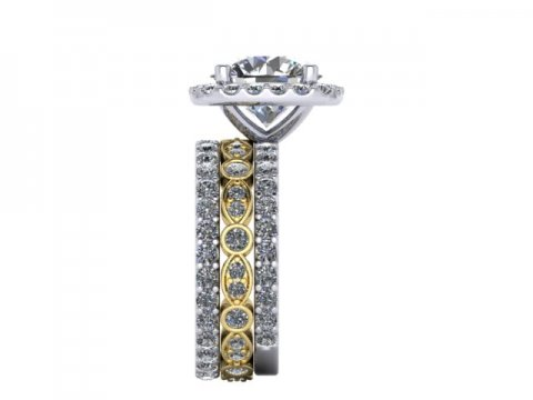 Custom Diamond Rings Bee Cave Texas 2 1, Shira Diamonds