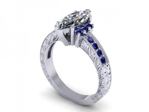 Custom Diamond Rings Dallas 1 1 4, Shira Diamonds