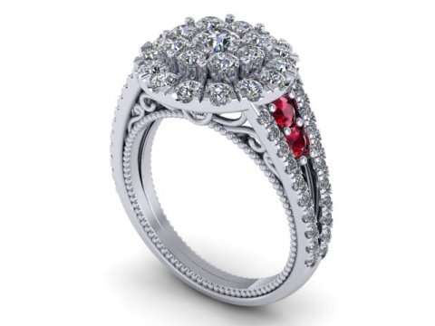 Custom Diamond Rings Dallas 1 3 1, Shira Diamonds