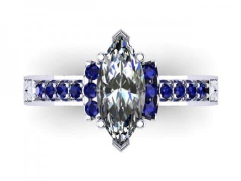 Custom Diamond Rings Dallas 2 1 2, Shira Diamonds