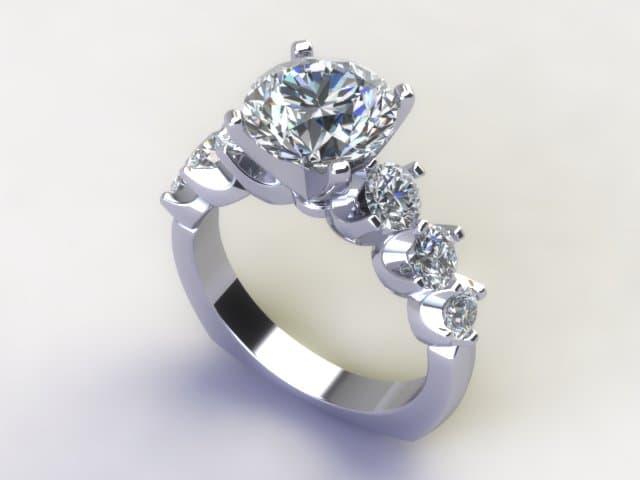 Custom Diamond Rings Dallas 2 4, Shira Diamonds