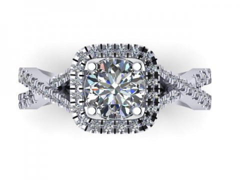 Custom Diamond Rings Dallas 3 2 2, Shira Diamonds