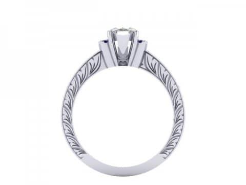 Custom Diamond Rings Dallas 4 1 2, Shira Diamonds