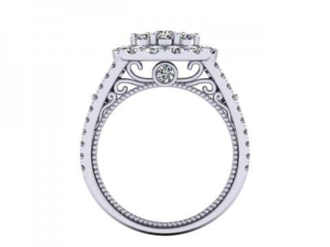 Custom Diamond Rings Dallas 4 3 3, Shira Diamonds