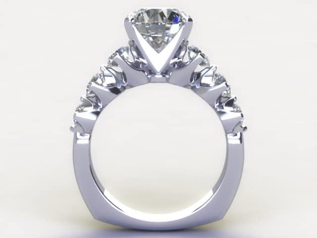 Custom Diamond Rings Dallas 5, Shira Diamonds