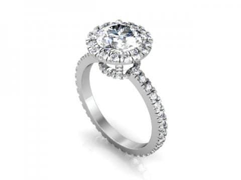Custom Diamond Rings Grand Prairie 1, Shira Diamonds