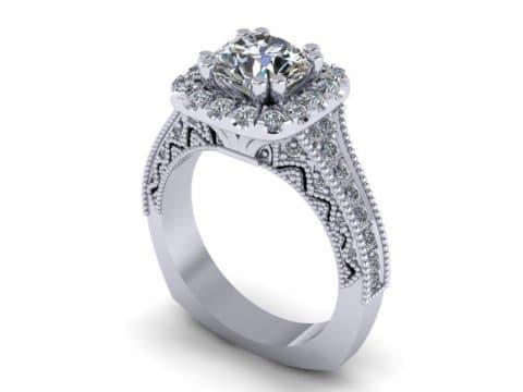 Custom Diamond Rings in Abbott Texas - Wholesale Engagement Rings - Abbott Texas 1