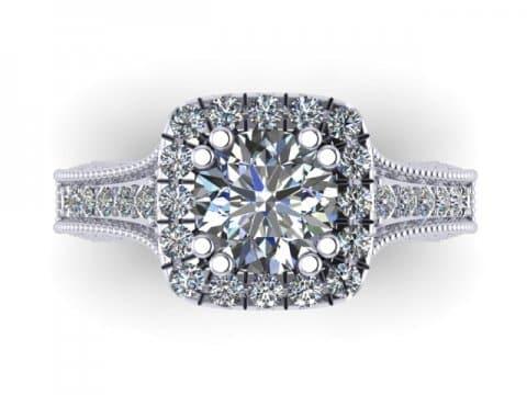 Custom Diamond Rings in Abbott Texas - Wholesale Engagement Rings - Abbott Texas 2
