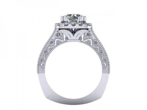 Custom Diamond Rings in Abbott Texas - Wholesale Engagement Rings - Abbott Texas 4