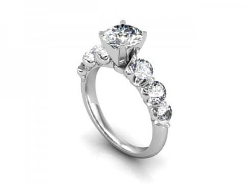 Custom Engagement Ring Amarillo 1 1, Shira Diamonds