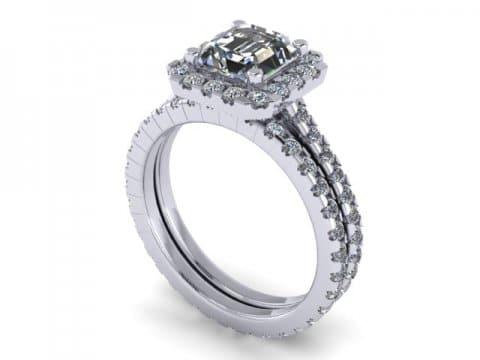 Custom Engagement Ring In Dallas 1, Shira Diamonds