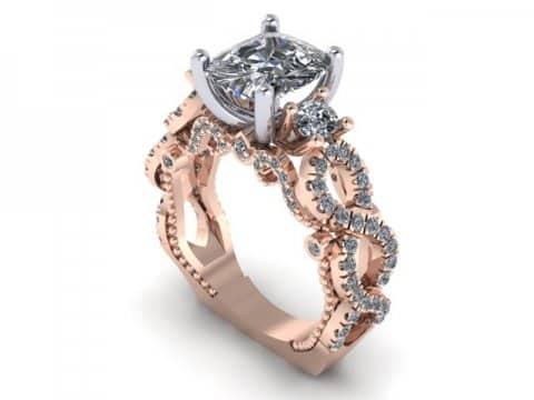 Custom Engagement Rings 1