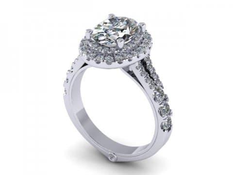 Custom Engagement Rings Dallas 1 1 2, Shira Diamonds