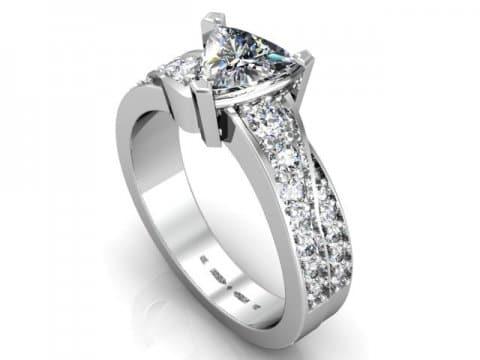 Custom Engagement Rings Dallas 1 3, Shira Diamonds