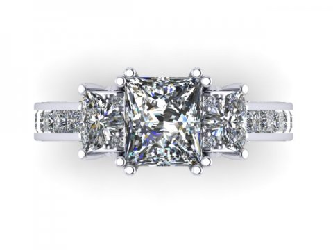 Custom Engagement Rings Dallas 2 2 1, Shira Diamonds