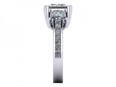 Custom Engagement Rings Dallas 3 2 1, Shira Diamonds