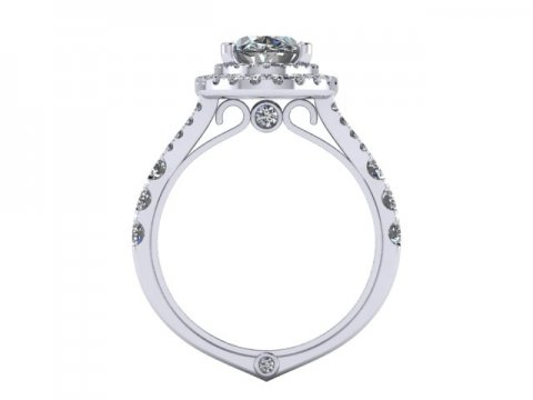 Custom Engagement Rings Dallas 4 1 2, Shira Diamonds