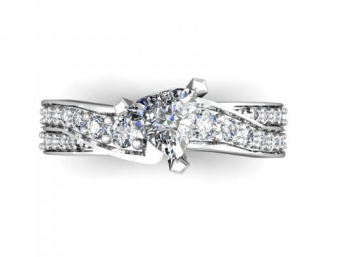 Custom Engagement Rings Dallas 4 3, Shira Diamonds