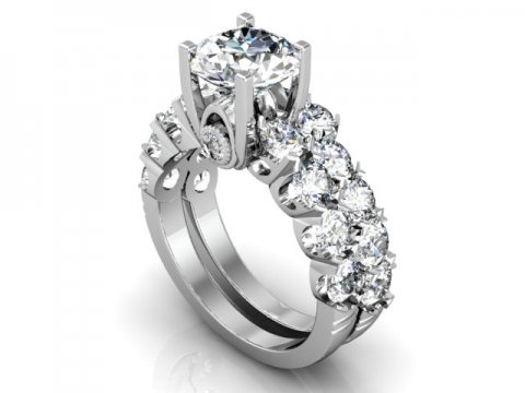 Custom Engagement Rings In Abilene Texas 1, Shira Diamonds