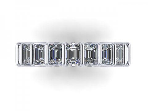 Custom Eternity Bands Dallas 2 2, Shira Diamonds
