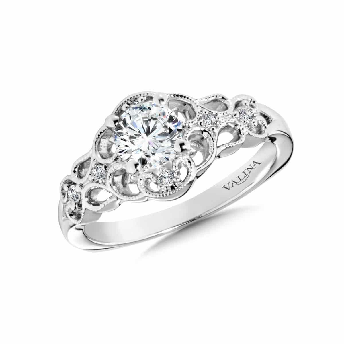 Custom Flower Engagement Ring Dallas Texas - Wholesale Diamonds - Loose Diamonds Dallas 3